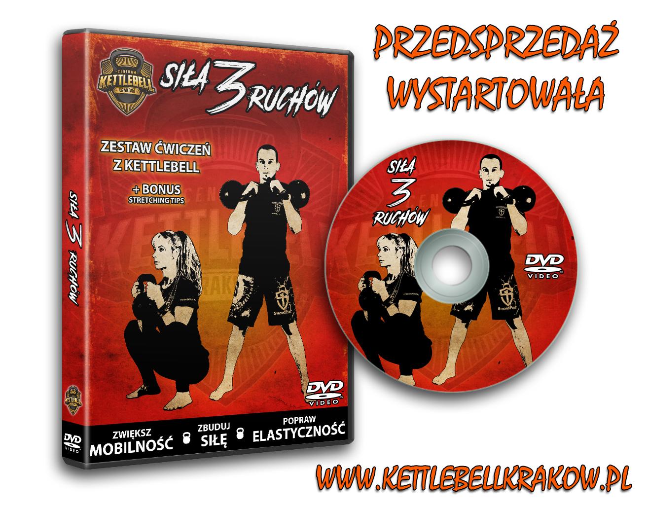 DVD Siła 3 Ruchów